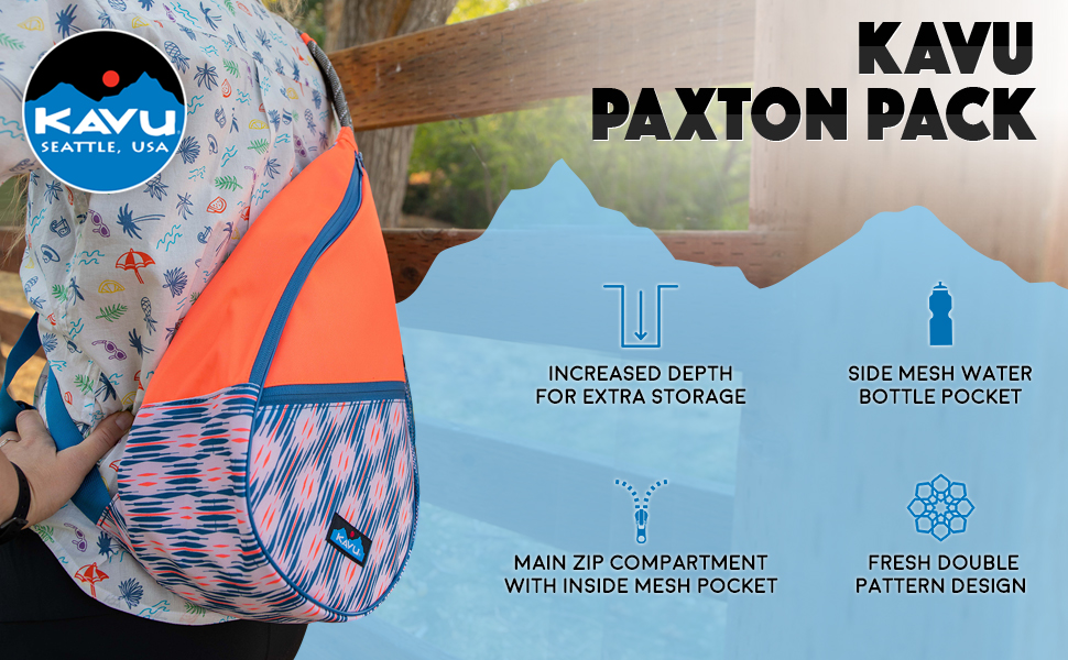 KAVU Paxton Pack Backpack Rope Sling Bag