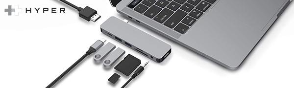 HyperDrive SOLO 7-in-1 USB C HUB