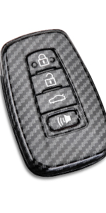 4 Buttons Keyless Entry Smart Remote Key Protective Cover Frosted Black DOHON Carbon Fiber Full Cover Key Fob Remote Case Compatible with BMW 2Pcs