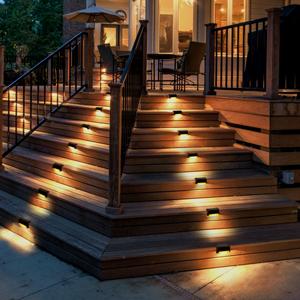 led solar step lights
