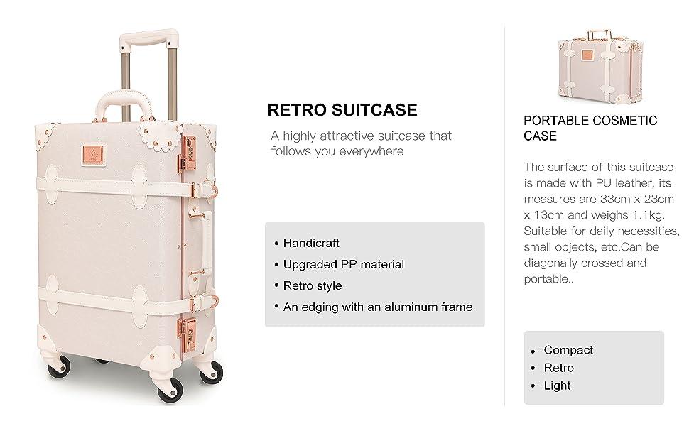 cute suitcase set