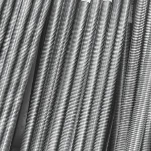 Gewindestange DIN 976-1 Stahl galvanisch verzinkt Form A 1000 mm lang M 3,5-1 St/ück