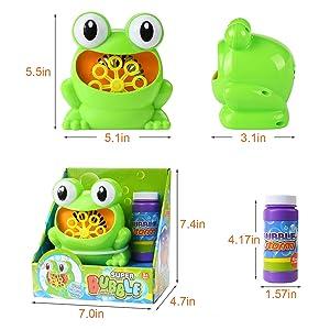 bubble machine toys