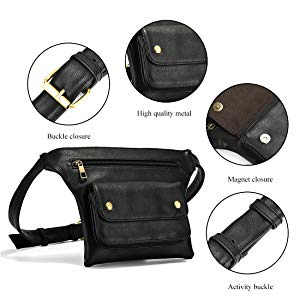 Waist Packs with Cell Phone Pouch