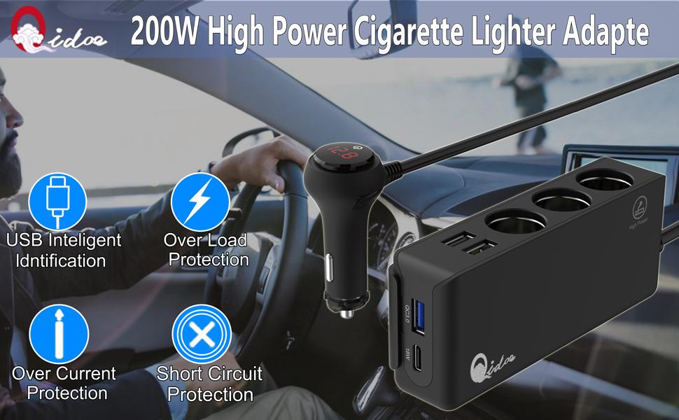Cigarette Lighter Adapter