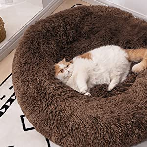 cat bed large donut cat bed bed for cats cat bed washable funny cat bed travel dog bed fuzzy dog bed
