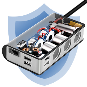 QC 3.0 Zigarettenanzünder Adapter