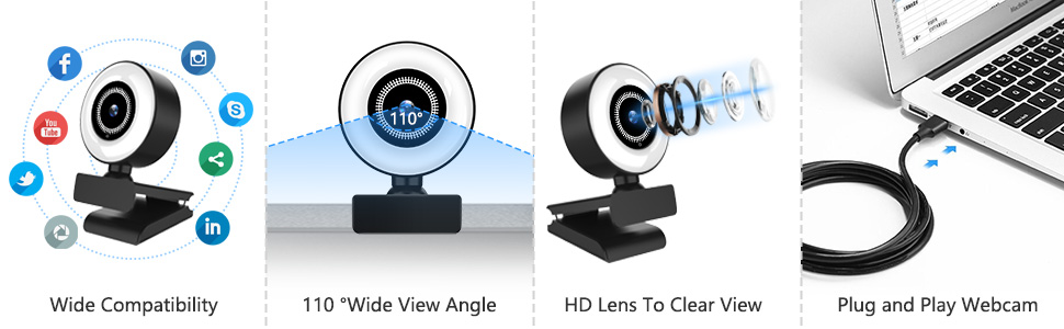 Flashandfocus.com 4fec9fe7-43cd-432b-8ff8-d1b828883760.__CR0,0,970,300_PT0_SX970_V1___ Streaming HD Webcam, ITSHINY 1080P Webcam with Ring Light & Dual Microphone, USB Adjustable Brightness Web Camera for…