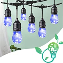 waterproof led outdoor string light