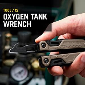 Leatherman OHT, Leatherman Multitool, Multipurpose Tool, Oxygen Tank Wrench, OHT Multitool