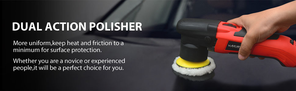dual action polisher