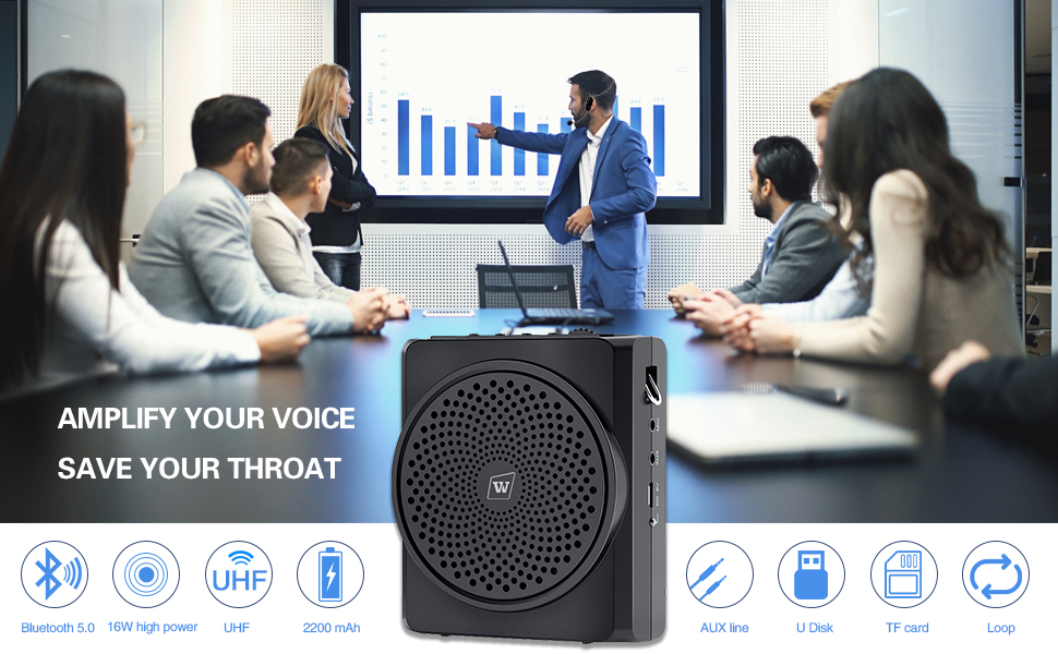 voice amplifier wireless