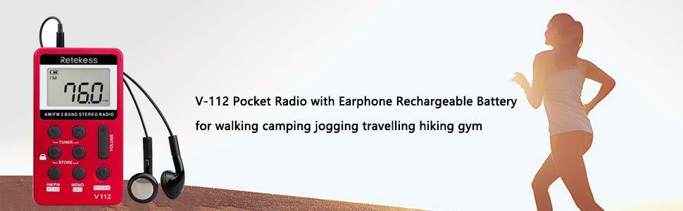 portable radio rechargeable