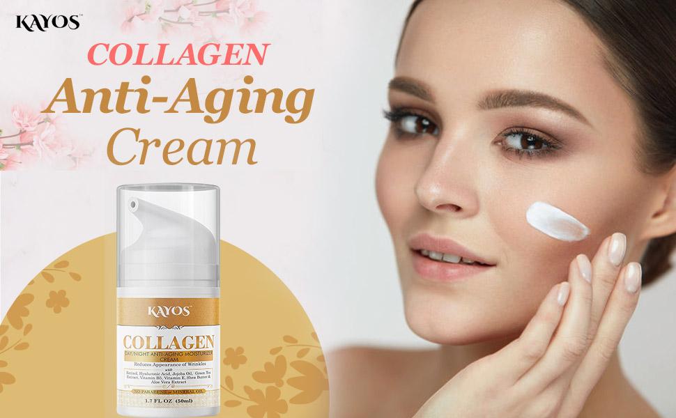 Kayos Collagen cream for anti aging