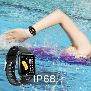 smart watch for men  RUNDOING Smart Watch for Men Women,1.54″ Fitness Tracker iP68 Waterproof Watch with Heart Rate Monitor, Calorie Counter,Pedometer Smartwatch Compatible for Android Phones iPhone 4ff890aa 4883 4c43 8dc8 7a49e9997f3d
