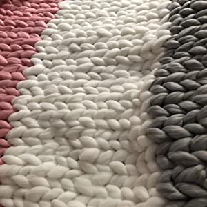 make unique chunky throw blankets home decor