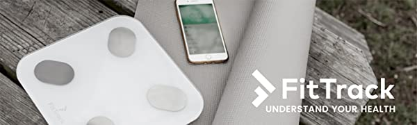 FitTrack Brand Dara Bluetooth Digital Scale