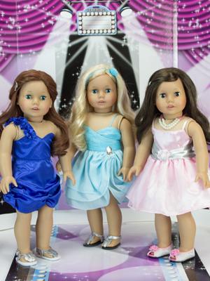 dressed doll, fashion doll