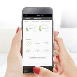 Oxypure wifi app control