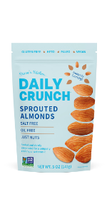 Just Almonds, Sprouted Almonds
