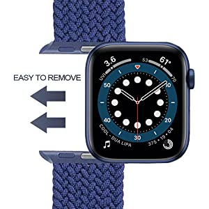 Braided solo loop band 42mm