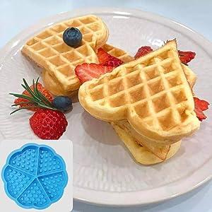 Silicone Waffle Mold