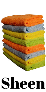 vehicle washing cloth