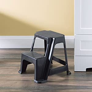 collapsible step stool, kitchen step stool, 3 step ladder, 2 step ladder, small step ladder, small s