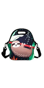 Sloth Lunch Bag