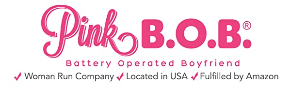 Pink B.O.B. Battery Operated Boyfriend Woman Run Company Located in USA Adult Sex Toy Manufacturer