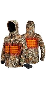 TideWe Heated Jacket for Men