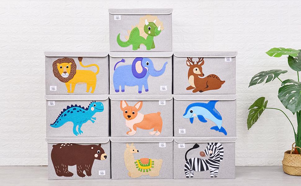 kids toy chest organizer toy storage bins box cube trunk