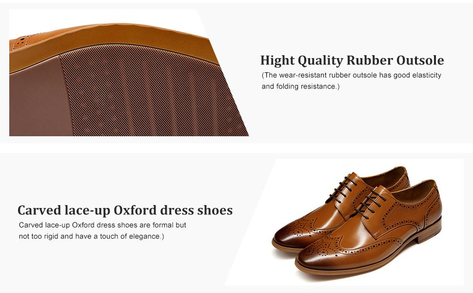 detail 2 for men dress shoes
