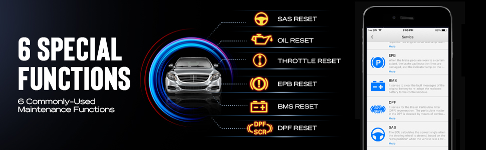 Autel auto diagnostic scanner AP200M