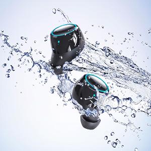 wireless earbuds waterproof bluetooth earbuds sport wireless headphone running bluetooth earbuds gym
