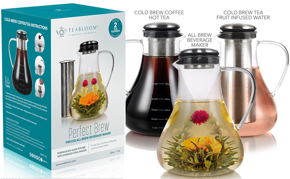 Cold Brew Tea Maker - Iced Tea Maker