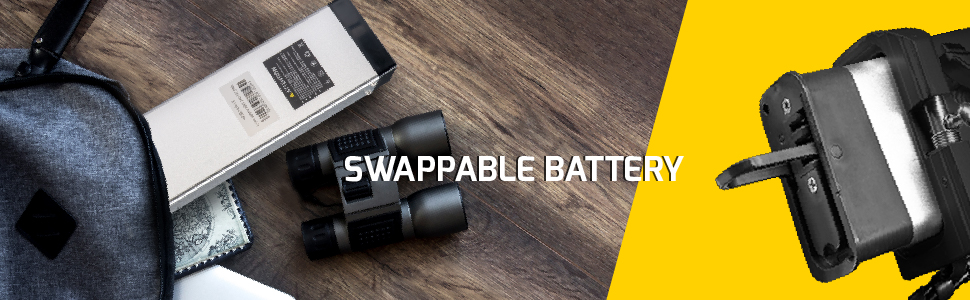 Swappable ebike battery