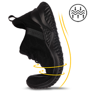 memory foam workout shoes