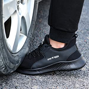 Mens Womens safety working shoes