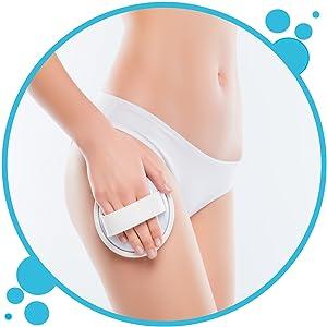 Körperpeeling Body scrub Saunasalz Bauch Beine Po Pflege Peelingsalz duschpeeling Badepeeling