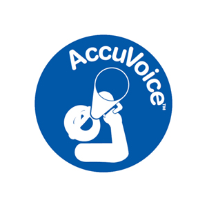 AccuVoice Technology For Clear Dialogue