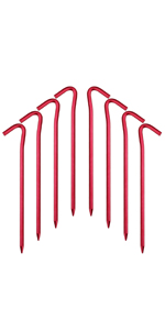 tent stakes, tent pegs, beach stakes, camping stakes, plastic stakes, garden stakes, canopy stakes