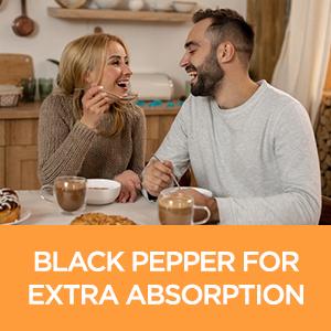 Turmeric Curcumin 1500mg with Black Pepper & Ginger