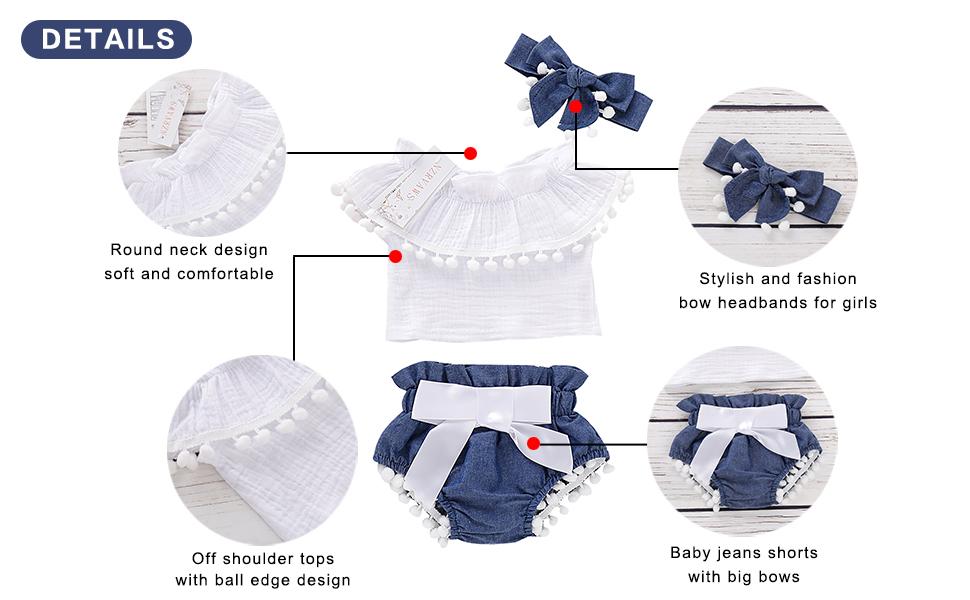 infant girls summer clothes
