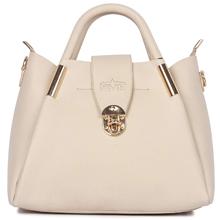 White Color Ladies Handbag