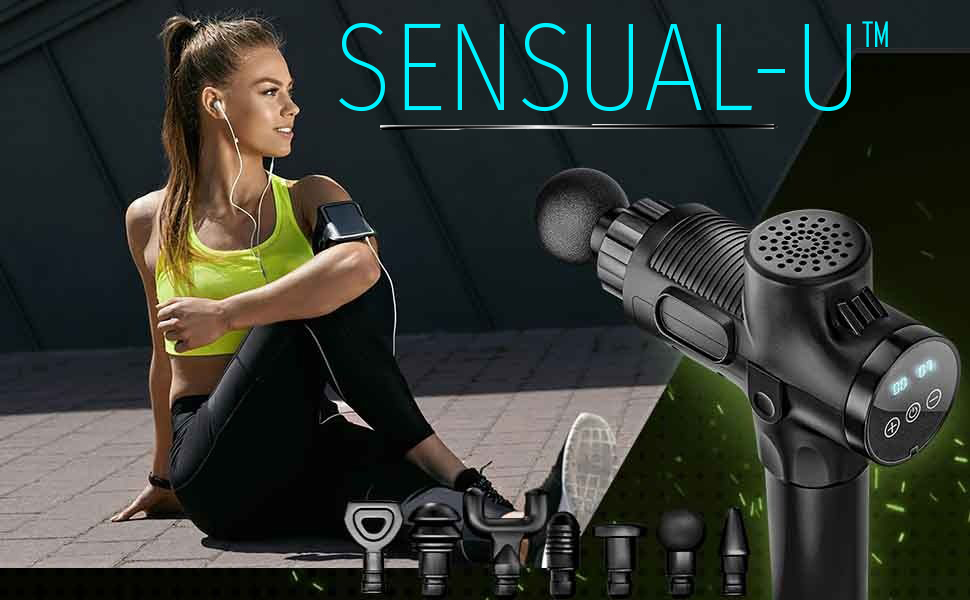 massage gun percussion massager sensual-u