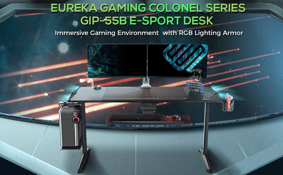 gaming table gaming desk gaming computer desk eureka ergonomic gaming desk desk gaming computer