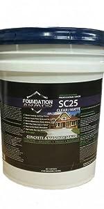 Siliconate Concrete Sealer