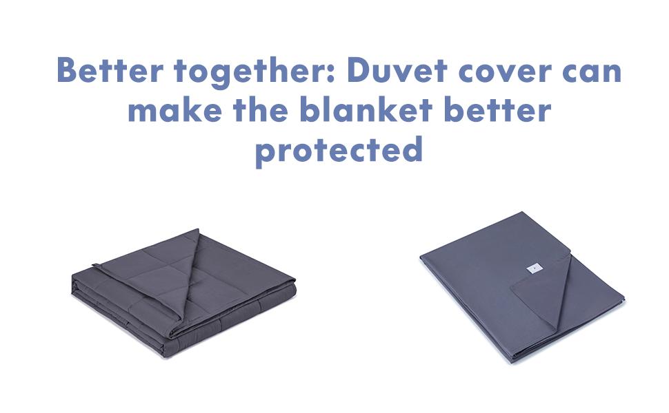 ourea weighted blanket duvet cover bundle