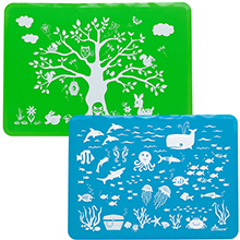 Slip Resistant Silicone Placemats